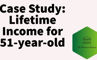 Case Study:  Lifetime Income for 51-Year-Old